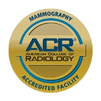 American College of Radiology Mammography Accreditation award logo